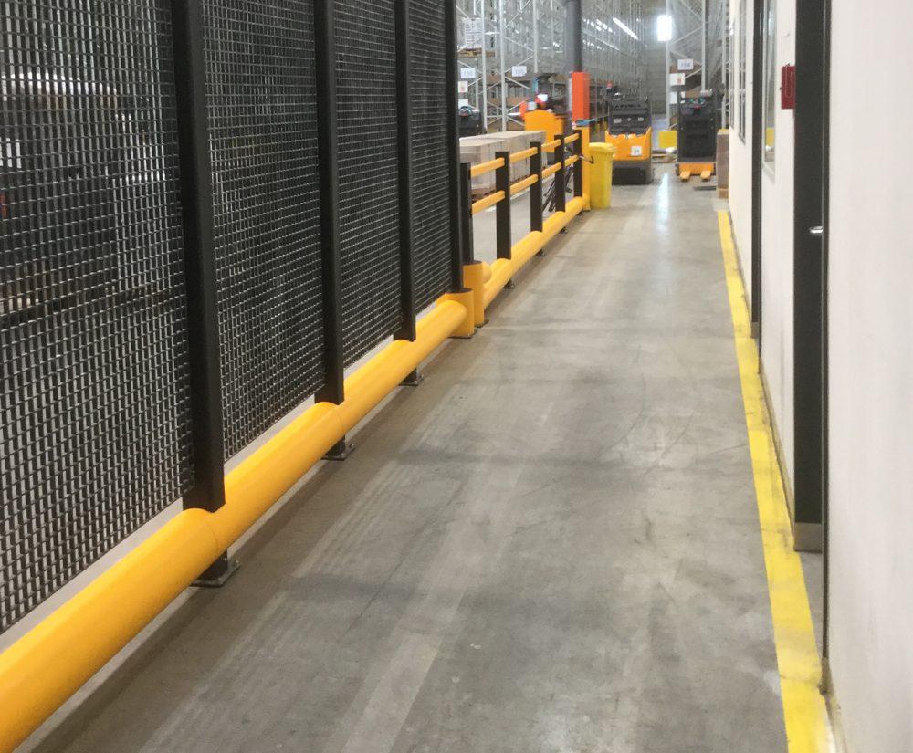 Barrière de protection flexible - Réalisation (1) - Barriere-de-protection