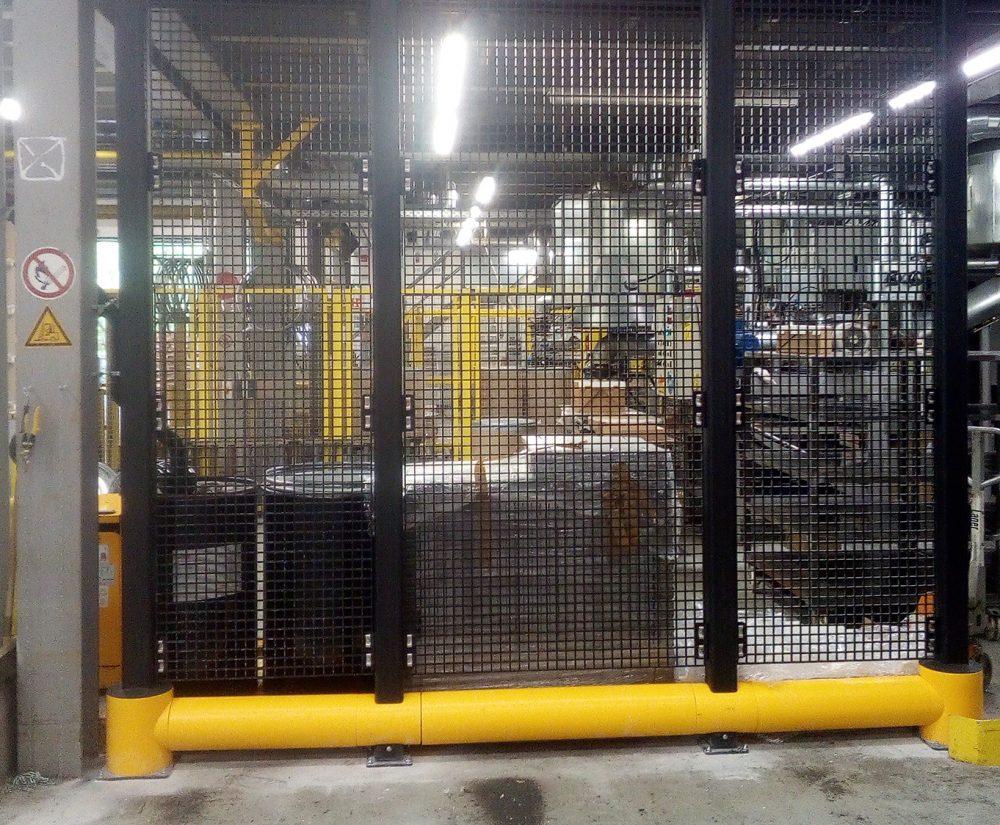 Barrière de protection flexible - Réalisation (2) - Barriere-de-protection